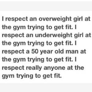 gym crap