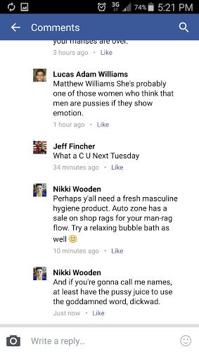 masculine hygiene product