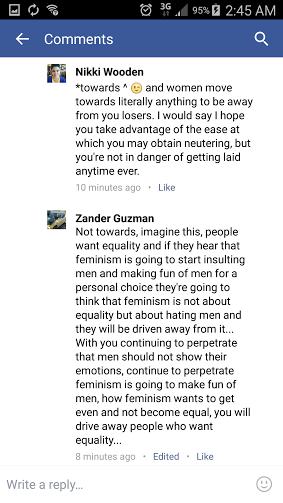 Zander fuckery